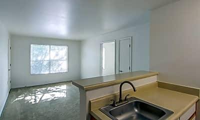 Kitchen, Silver Hill At Arboretum Senior Living, 1
