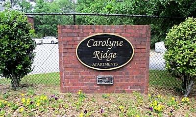 Community Signage, Carolyne Ridge Apartments, 2