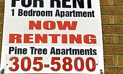 Pine Tree Apartments, 1