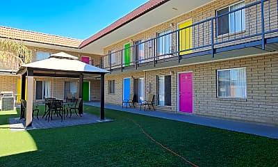 Courtyard, Villa Nicole, 2