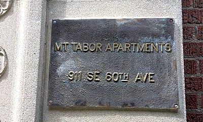 Mt Tabor, 1