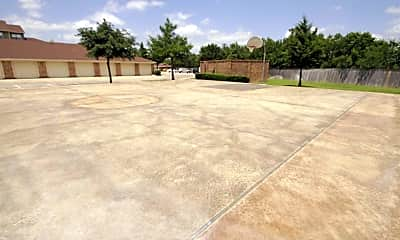 Basketball Court, Lost Spurs Ranch, 2