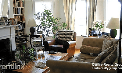 Living Room, 43 Linnaean St, 1