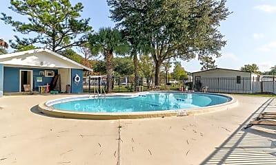 Pool, Paradise Village, 1