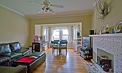 Living Room, 2247 Ridge, 2