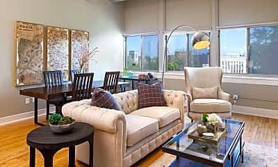 Living Room, One Delaware Avenue, 0