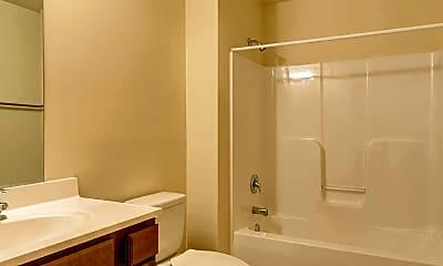 Bathroom, T&E Apartments, 2