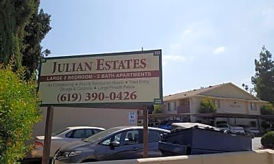 Julian Estates, 1