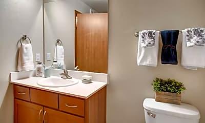 Bathroom, Echo Lake, 2
