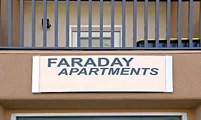 Community Signage, Faraday Apartments, 2