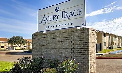 Community Signage, Avery Trace Apartments, 2