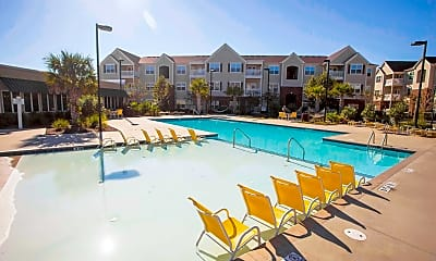 Pool, Carolina Cove Apartments - PER BED LEASE, 1