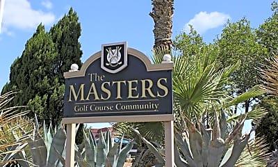 Community Signage, The Masters Community, 2