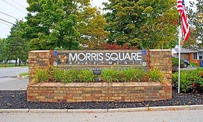 Community Signage, Morris Square, 1