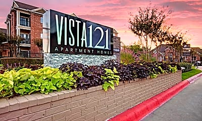 Community Signage, Vista 121 Apartment Homes, 2