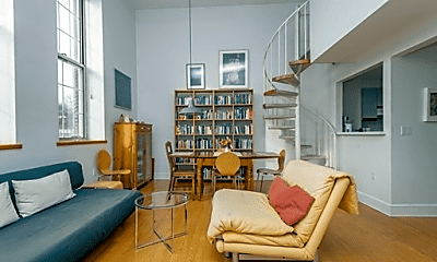 Living Room, 41 Walden St, 1