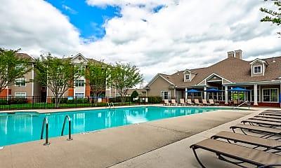 Pool, Riverwalk Apartments, 2