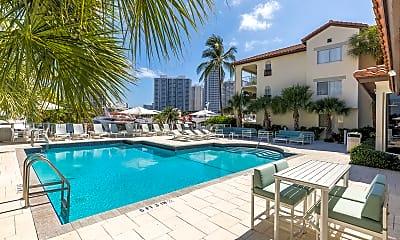 Pool, Waterways Village Apartments, 0