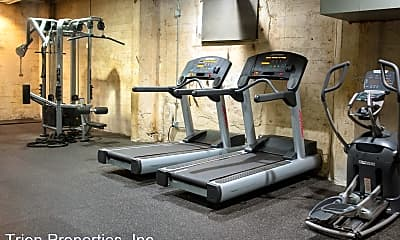 Fitness Weight Room, 1136 W 6th Street, 1