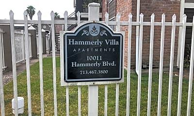 Hammerly Villa, 1