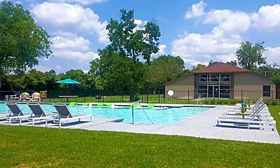 Pool, Upland Park Townhomes, 0