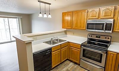 Kitchen, Pebble Springs Apartments, 0