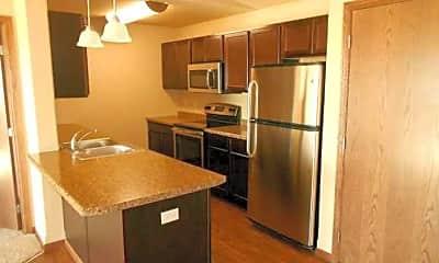 Kitchen, Sunset Bluffs, 1