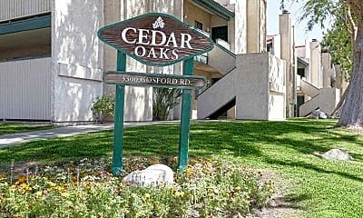 Community Signage, Cedar Oaks, 2
