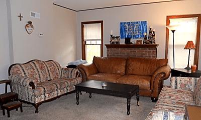 Living Room, 1735 Fairchild Ave, 0