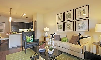 Living Room, Anatole at Norman, 1