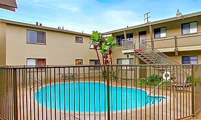 Pool, Glen Haven Apartments, 1
