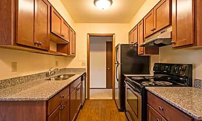 Kitchen, Sela St. Louis Park Apartments, 1