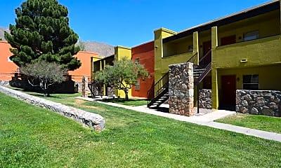 Building, Santa Fe Place, 0