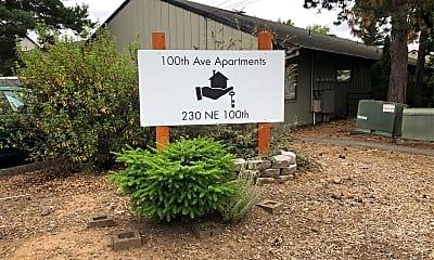 100th Avenue Apartments, 1