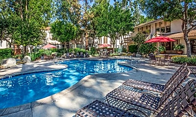 Pool, Country Woods Apartment Homes, 1