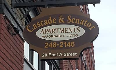 Cascade and Senator Apartments, 1