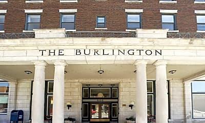 Building, The Burlington Apartments, 1
