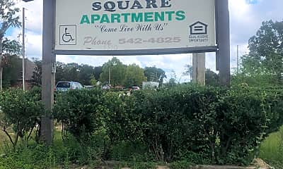 Hammond Square Apartments, 1