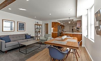 Living Room, 431A Capp Street, 0