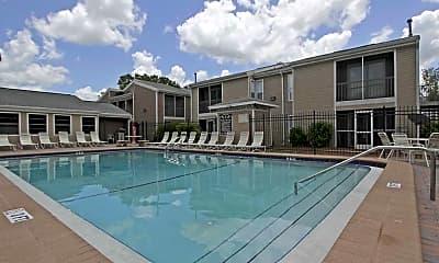 Pool, Palm Avenue Apartments, 0