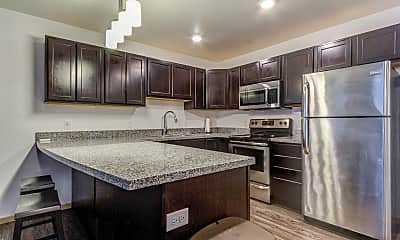 Kitchen, Boulevard Square Apartments, 0