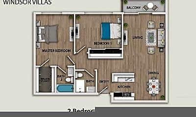 Bedroom, 1377 E Windsor Rd, 2