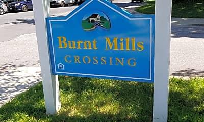 Burnt Mills Crossing, 1