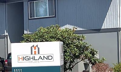 Highland Flats Apartments, 1