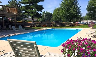 Pool, Prairie Woods Apartment Homes, 1