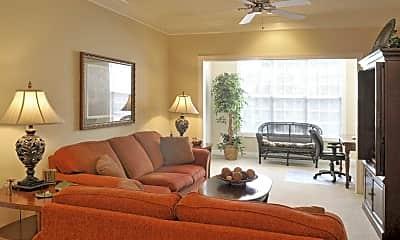 Living Room, Greystone at Maple Ridge, 1