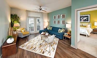 Living Room, Meridian At Redwine, 1