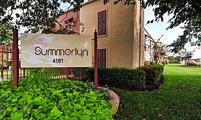 Community Signage, Summerlyn Apartments, 2