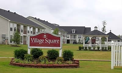 Community Signage, Village Square Searcy, 0