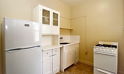 Kitchen, 377 Lenox Avenue Apartments, 0